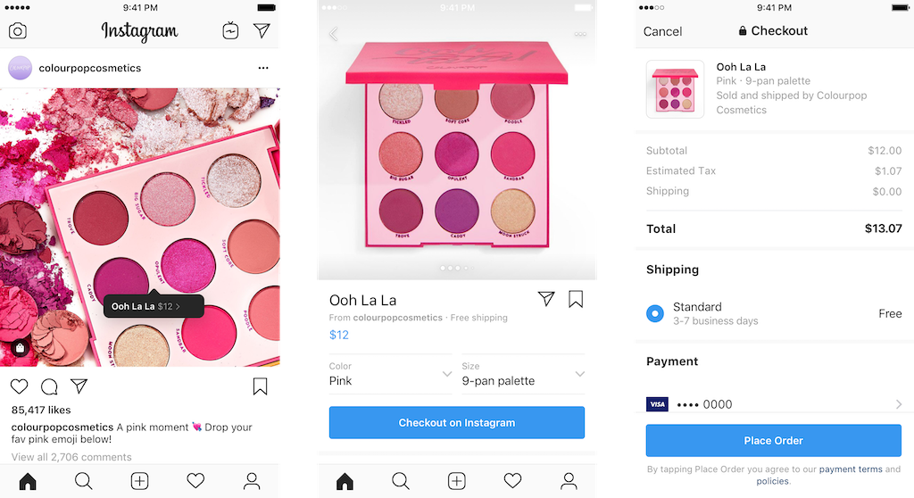 Checkout: Buy from brands without leaving instagram