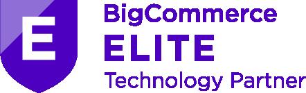 bigcommerce elite technology partner badge