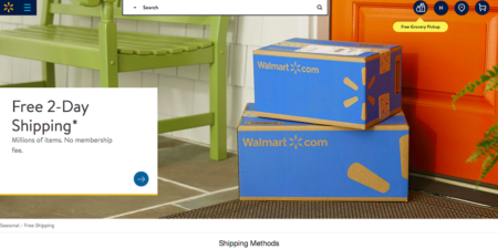 Free Two-Day Shipping From Walmart