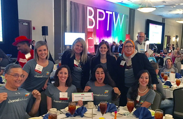 ChannelAdvisor team at the Best Place to Work in the Triangle Awards