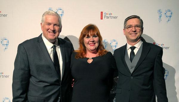 ChannelAdvisor at the Google Partner awards ceremony
