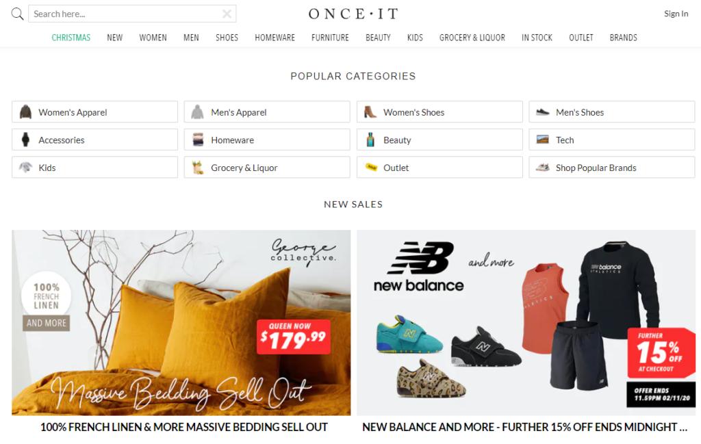 onceit screenshot