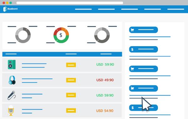 price tracking software screenshot