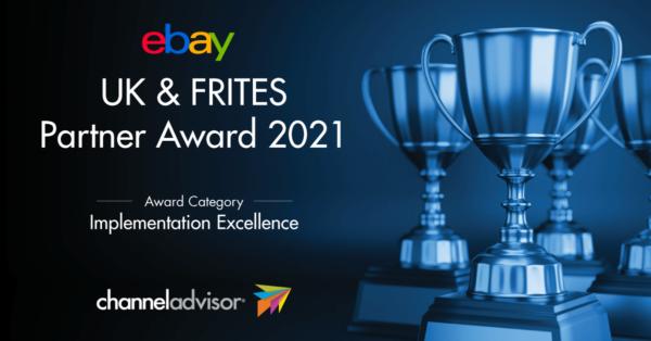 ebay uk & frites partner award 2021 badge